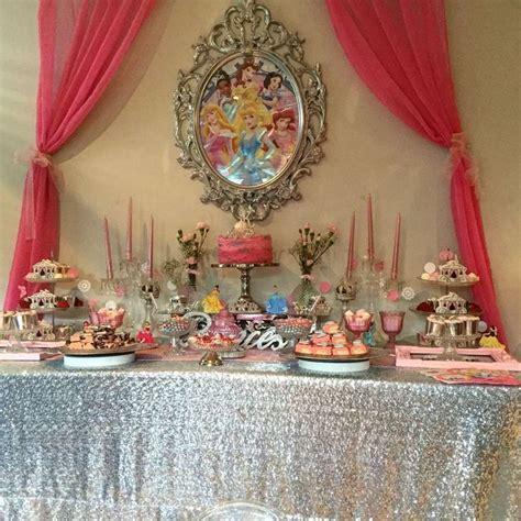 table princesse disney disney princess birthday ideas disney princess