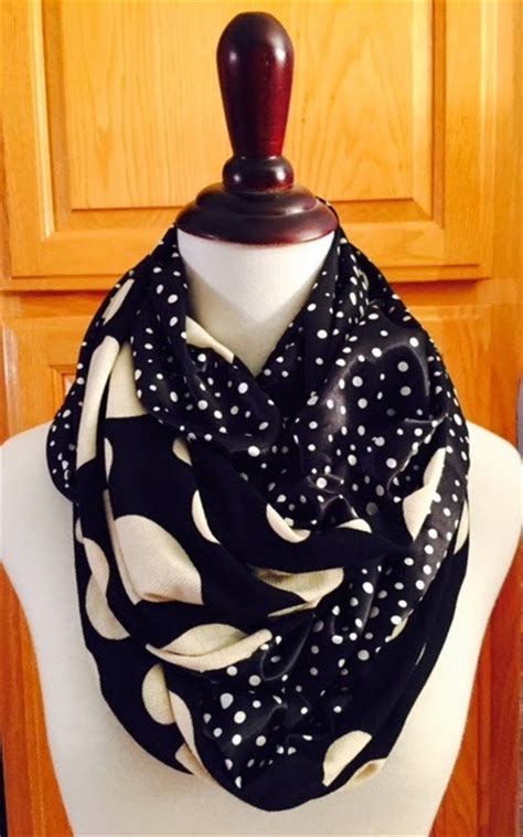 pattern for fabric infinity scarf 15 minute infinity scarf pattern allfreesewing com