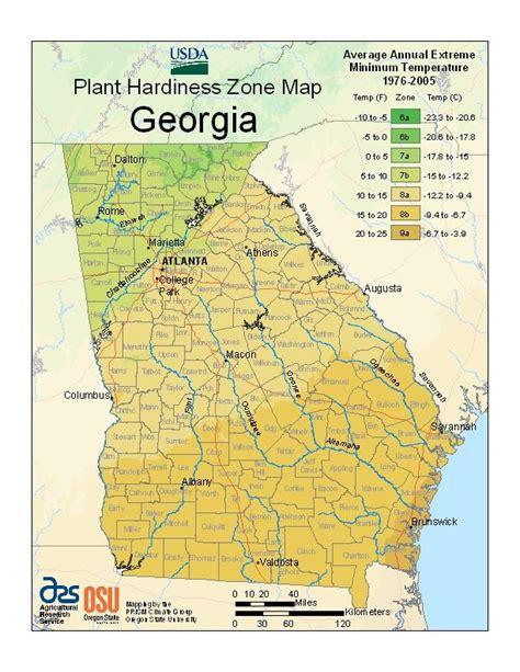 Gardening Zones Colorado Usda Plant Hardiness Zone Map For Coweta Co Is