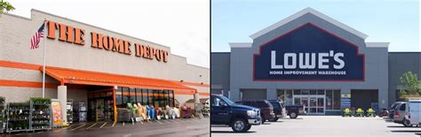 home depot vs lowes home depot inc nyse hd