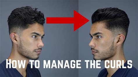Hairstyles For Guys With Wavy Hair by 3 Tips Tricks For Guys With Curly Wavy Coarse Hair