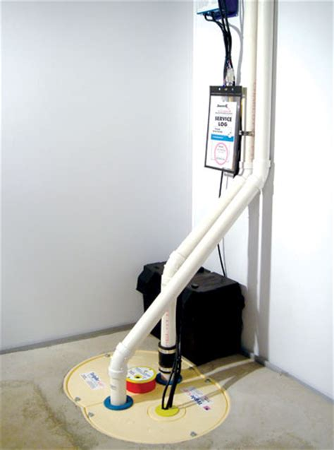 water backup in basement triplesafe sump system with three pumps battery