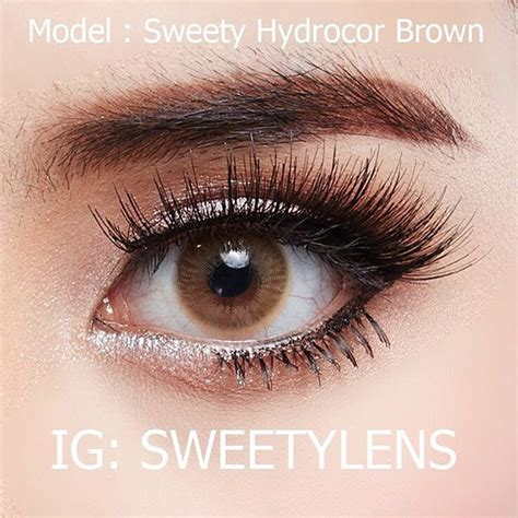 Solotica Hydrocor Brown By Sweety Plus sweety hydrocor brown sweety plus bbbeautycontact