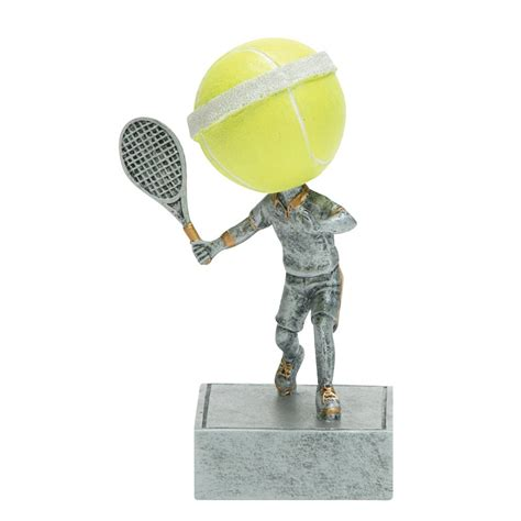 bobblehead tennis tennis bobblehead trophies