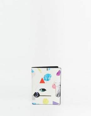 Printed Travel Organiser From Asos by Monki Printed Travel Wallet