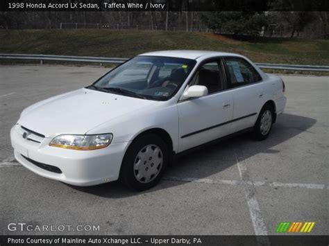 1998 honda accord white taffeta white 1998 honda accord lx sedan ivory