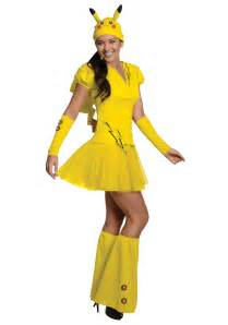 Pokemon Costumes Womens Pikachu Costume