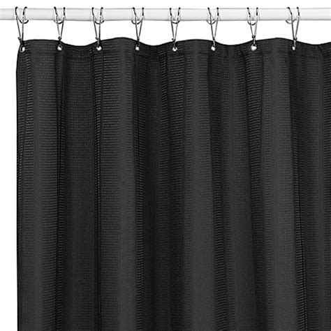 black shower curtains westerly black 72 inch x 72 inch fabric shower curtain