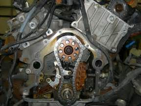 2003 Ford Explorer Timing Chain Rear Timing Chain Tensioner Replacement Ford Explorer