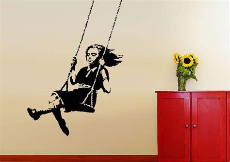 Graffiti Aufkleber Selber Machen by Die Besten 25 Banksy Wandaufkleber Ideen Auf
