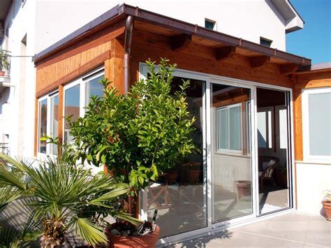 costruire veranda in legno foto veranda in legno e infissi di d antonio esterni