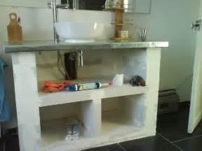 mon chez moi cr 233 ation d un meuble de salle de bains