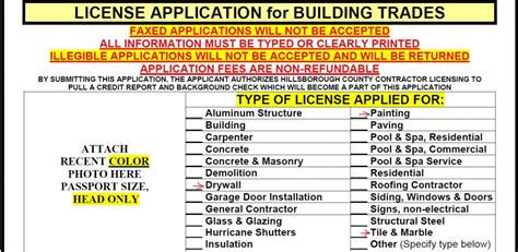 general home improvement license in hillsborough county
