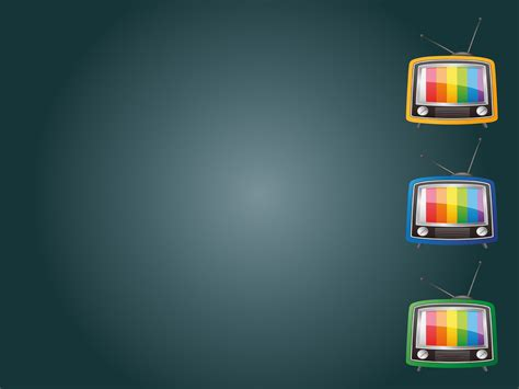 tv show powerpoint templates tv television backgrounds 3d design
