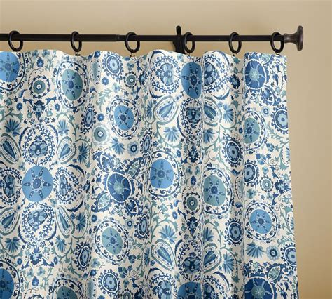 suzani print curtains the daily hunt the neo trad