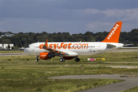 Low Cost Mba Germany by Easyjet A320 Taxiing On Airbus Plant Editorial Photo