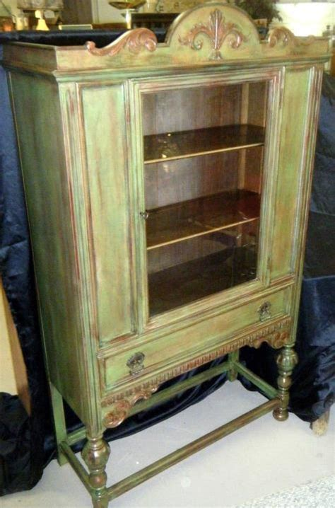 repurposed china cabinet for the home
