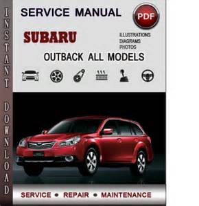 subaru outback service repair manual download info