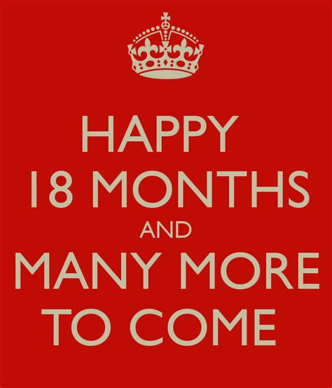 happy why more or happy 18 months and many more to come keep calm and carry on image generator
