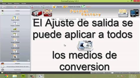 como descargar format factory full español como utilizar formatfactory viyoutube