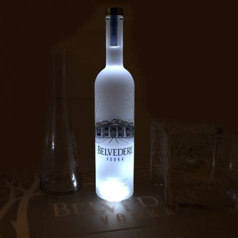 light with vodka belvedere light illuminator vodka luxury for