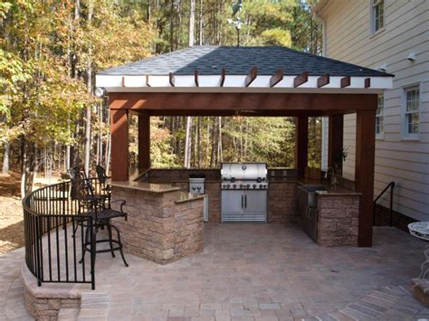 outdoor kitchen with bar outdoor kitchen bar hardscapes outdoor kitchens