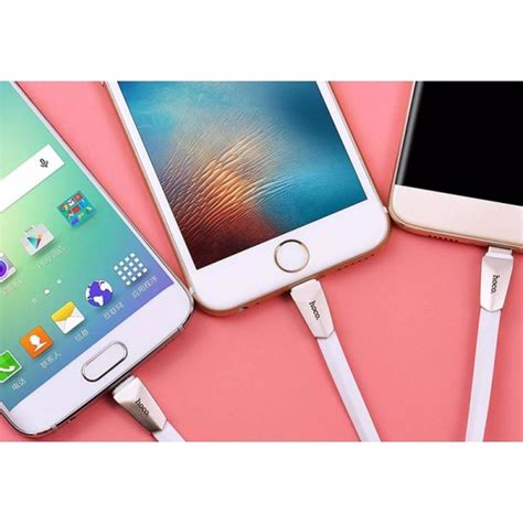 Hoco X4 Usb Type C Charging Cable 1 2m For Smartphone Diskon Hoco X4 3 In 1 Lightning Micro Usb Type C Charging Cable