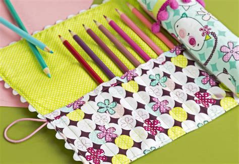 pattern for roll up pencil case diy roll up pencil case craft diy pinterest