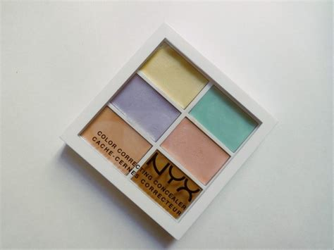 Nyx Color Correcting Palette nyx color correcting palette review and cosmetics