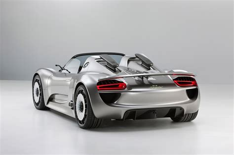 Porsche Spyder Concept by Porsche 918 Spyder Concept Fully Revealed