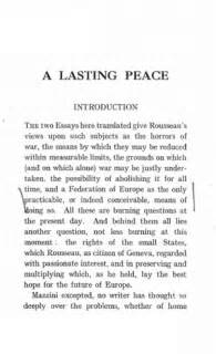 War And Peace Essay by A Lasting Peace Through The Federation Of Europe And The State Of War Library Of Liberty