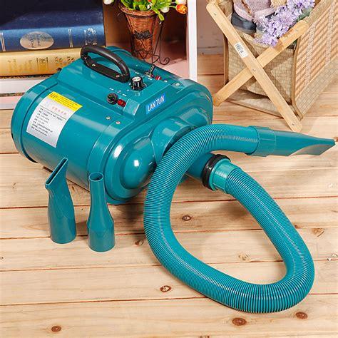 Hair Dryer Energy Conversion 3600w dual voltage 100 240v pet hair dryer pet blower low noise motor stepless wind
