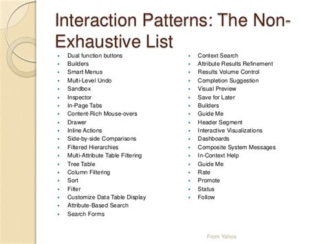 interaction pattern library ux edmonton pattern libraries