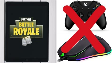 fortnite for mobile fortnite mobile player shows you don t need a controller