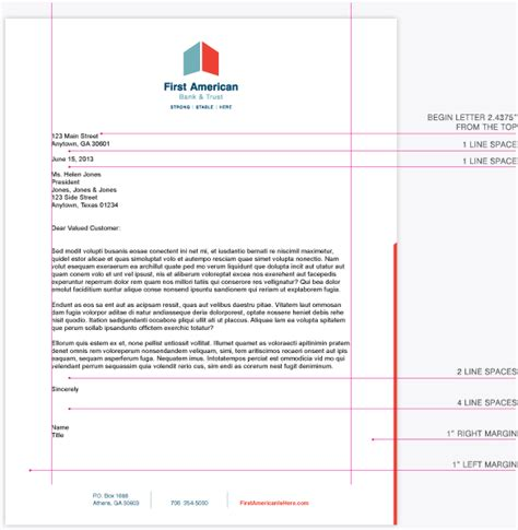 Bank Of Letterhead Bank Of America Letterhead Pdf Contactfree