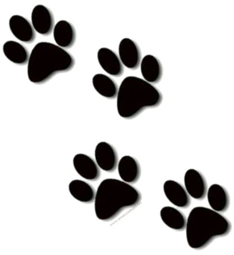 puppy print paw print sts paw prints clip clipartcow 2 cliparting