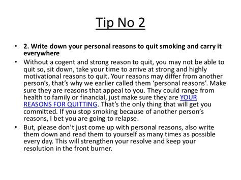 8 Reasons To Quit Your Day by Keeping Your New Year Stop Resolution