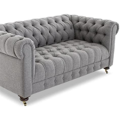 tufted gray sofa 17 best ideas about tufted sofa on tufted