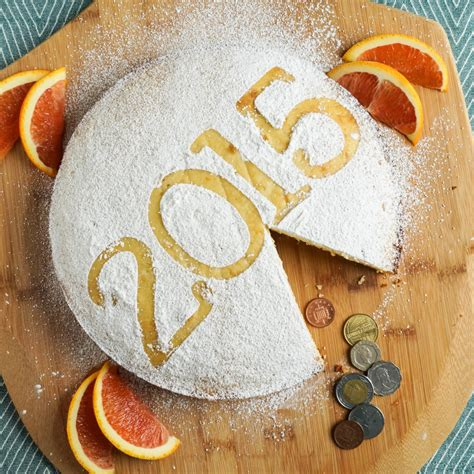 new year s bread vasilopita new year cake tara s multicultural table