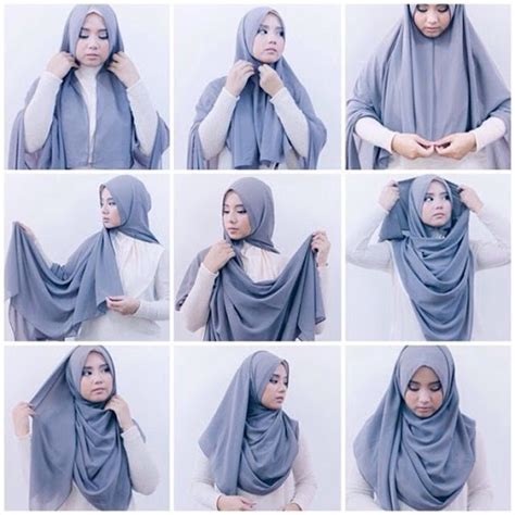 tutorial hijab pashmina simple kuliah tutorial hijab simple untuk ke kus kantor dan kuliah