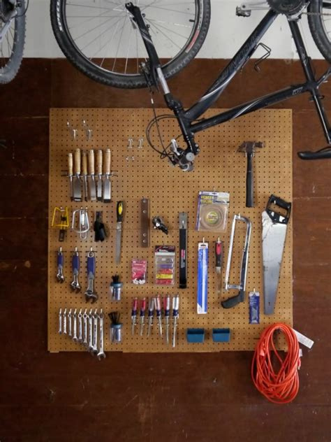cool pegboard ideas garage organization tips hiding holiday gifts c r a f t