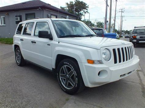 2009 Jeep Patriot Sport 2009 Jeep Patriot Sport 4dr Front Wheel Drive