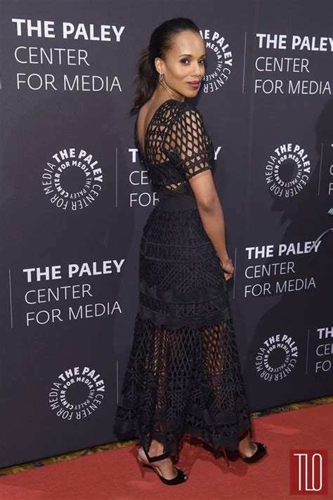 african american red carpet looks kerry washington in self portrait at paley center tribute