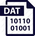 format file dat dat extension file format icon icon search engine