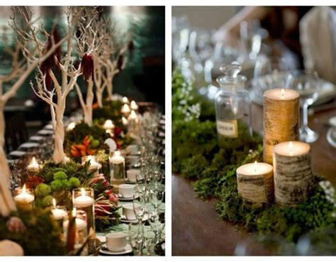 rustic log centerpieces rustic centerpiece ideas