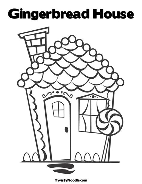 coloring page gingerbread house come make something with me holiday fun