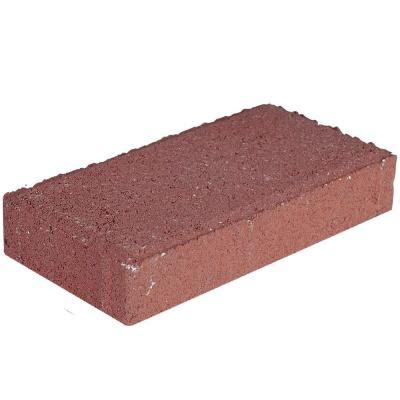 pavers home depot 4 in x 8 in 45 mm river concrete paver
