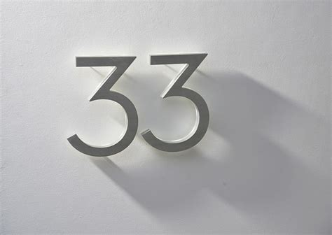 outdoor house numbers neutra 8 quot house numbers led illuminated outdoor midcentury house numbers los