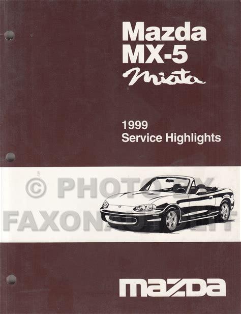 1999 mazda mx 5 miata service repair manual download best manuals mazda