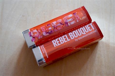 Lipstik Maybelline Rebel Bouquet review maybelline s new york new rebel bouquet lipsticks